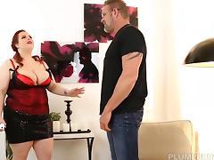 BBW Jordynn Luxxx Get Spanked and Fucked by Stepdaddy Tony D tube porn video