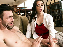 Chanel Preston & Charles Dera in Hard Call - Brazzers tube porn video