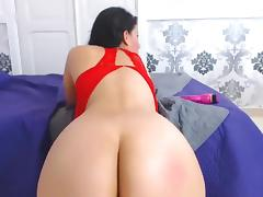 Nice Latin Lady With Nice Ass On Webcam 1 tube porn video