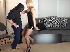 Ballbusting - Hot Blonde tube porn video
