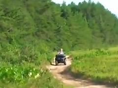 Country Gurl ATV tube porn video