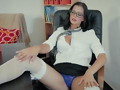 Naughty Schoolgirl Caught By The Teacher tube porn video