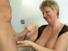 Hot Granny With Big Tits Fucked tube porn video