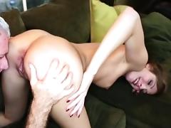 Sweet hot chick Alexa Grace gets fucked by large dick tube porn video