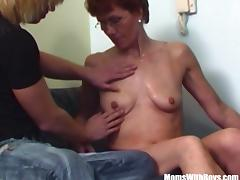 Hairy Pussy Redhead Stepmom Teen Couch Fucked tube porn video
