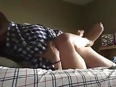 deeeep in an auntie tube porn video