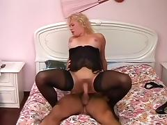 Lingerie Loving Tranny Getting Sucked tube porn video