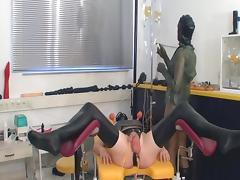 Enema and catheter bdsm tube porn video
