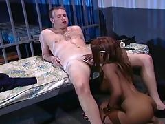Busty Sinnamon Love Seduces The Prison Guard With Her Tongue tube porn video