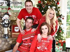 Riley Mae in Heathenous Family Holiday Card - FamilyStrokes tube porn video