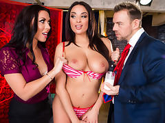 Anissa Kate & Rachel Starr & Erik Everhard in You Can Cream On Me - Brazzers tube porn video