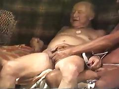 Three in early 1990 tube porn video
