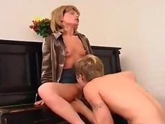 MATURE RUSSIAN PIANO TEACHER tube porn video