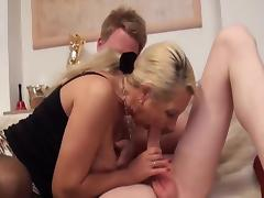 Busty Granny Anal Creampie tube porn video