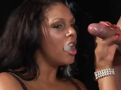 When the cigar exits her mouth a cock makes its debut tube porn video