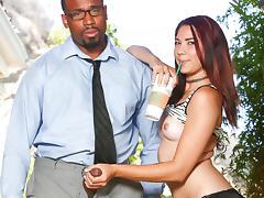 Jordan Dalhart in My New Black Stepdaddy #21, Scene #01 - DevilsFilm tube porn video