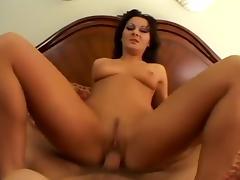 Hottest pornstar Sandra Romain in incredible brunette, anal sex movie tube porn video