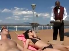 Couple on boat with bbc tube porn video