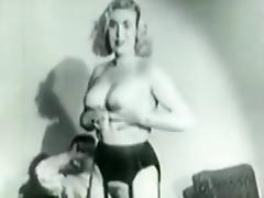 Extremely rare 1953 stag film tube porn video