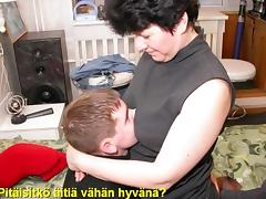 Slideshow: Mom Liza with Finnish Captions tube porn video