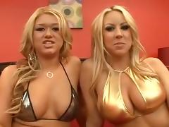 Exotic pornstars Cayden Moore, Carolyn Reese and Claudia Rossi in best adult video tube porn video