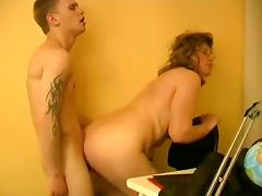 Fabulous Homemade record with Mature, BBW scenes tube porn video