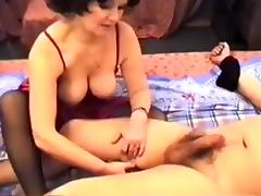 Exotic Amateur clip with Brunette, Stockings scenes tube porn video