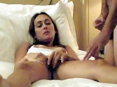 Nympho Arab wife fucked by stranger on webcam tube porn video