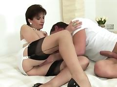 Unfaithful english mature lady sonia shows off her huge titt tube porn video
