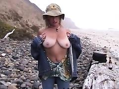 Busty real amateur mature outdoor fucked hard tube porn video