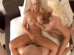 Hot sex with two amazing blondes tube porn video