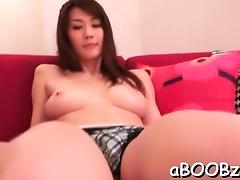 Japanese with large scoops provides much more than massage tube porn video