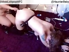 Crazy Homemade movie with BBW, Lesbian scenes tube porn video