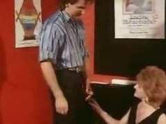 Classic vintage horny woman gangbang in the cinema tube porn video