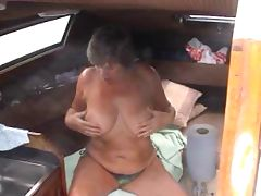 fun on the boat tube porn video