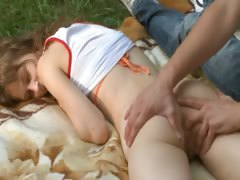 Beatas forest dream and bottom fingering tube porn video