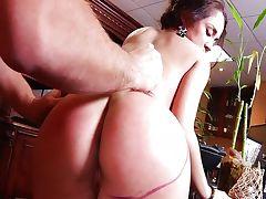 With a secretary Kristina Rose tube porn video