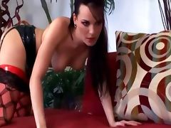 Kinky anal sex in boots and fishnet stockings tube porn video