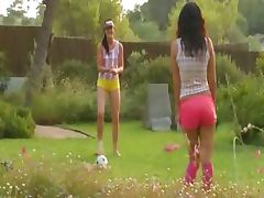 Summer games of two lezzie friends tube porn video