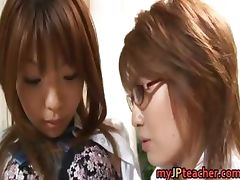 Hot Asian lesbians are teachers part2 tube porn video
