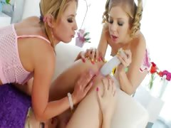 lesbians hardcore anal vibrating tube porn video