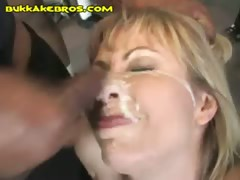 Blonde Wants Black Bukkake tube porn video