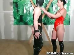 Horny guy with leather mask is getting part1 tube porn video