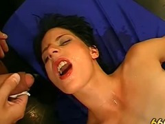Dirty fetish slut fucked and piss drenched tube porn video