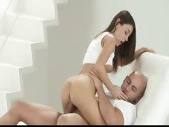 brunet love hardcore doggystyle fuck tube porn video