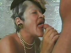 GRANNY AWARD 9 matures with a man tube porn video