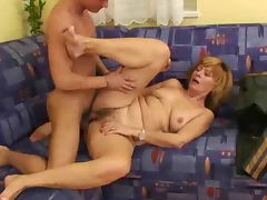 Older Woman fuck Young Boy tube porn video