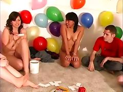 Party game teens cock sucking tube porn video