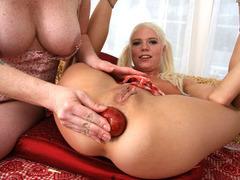 Super hot big cock interracial anal destruction of Jayda Diamond tube porn video