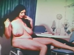 Plump Girl is a Skillful and Sexy Stripper 1960 tube porn video